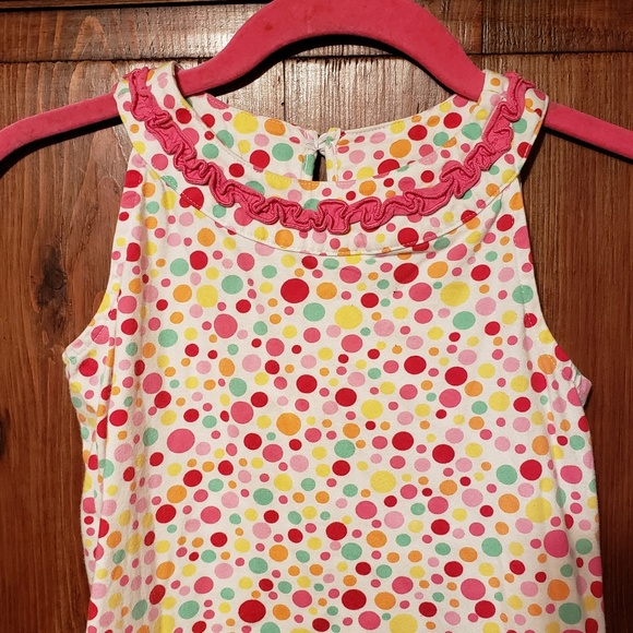 Hanna Andersson Other - Hanna Andersson Polka Dot Dress size 120 6X/7